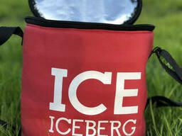 Термосумка Сумка-Холодильник Iceberg. Тубус. Красный
