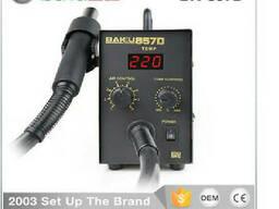 Термовоздушная ремонтная паяльная станция Bakku BK-857D, цифровая индикация, фен. ..