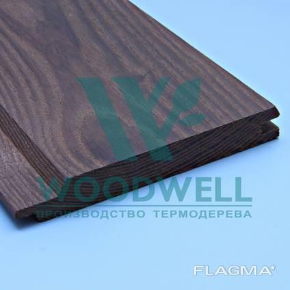 Имитация бруса Термоясень - Ясень - Woodwell