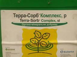Терра-Сорб Комплекс - Унікальний біостимулятор зростання, антистрессант с/г культур/садів,