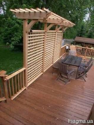 Терраса. Строительство террас из дерева (термодерева)