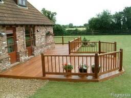 Строительство деревянных террас под ключ