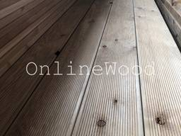 Террасная доска из сибирской лиственницы, сорт С - photo 2