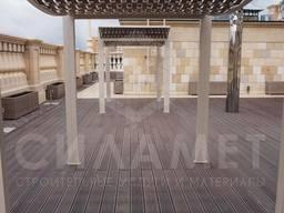 Террасы для бассейнов, открытые террасы под ключ