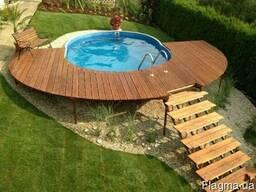 Террасы открытые деревянные из термодревесины - photo 2