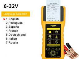 Тестер АКБ Autool BT760 12V 24V анализатор автомобильных. ..