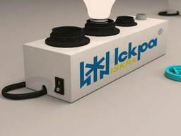 Тестер  для проверки ламп Искра на 4 патрона торговый