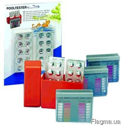 Тестер-набор таблеточный Chemoform pH -Cl.