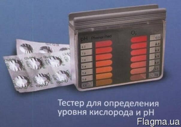 Тестер-набор таблеточный Chemoform pH-O2.