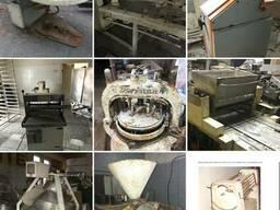 Тестомес, тестораскаточная машина, хлеборезка, тестоделитель