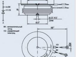 Тиристор ТБ243-500-9 622