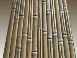 Тисненая вагонка бамбук