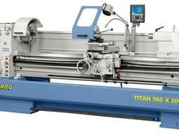 Titan 560x2000 Токарный станок по металлу промышленный Berna