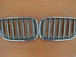 Титановая решетка радиатора для рест версии BMW X5 E53 LCi