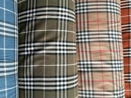 Ткань рубашечная байка (фланель) Турция