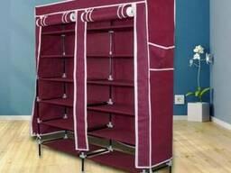 Тканевый шкаф - органайзер для хранения обуви