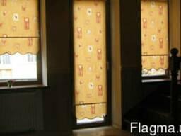 Тканевые роллеты,жалюзи,римские шторы
