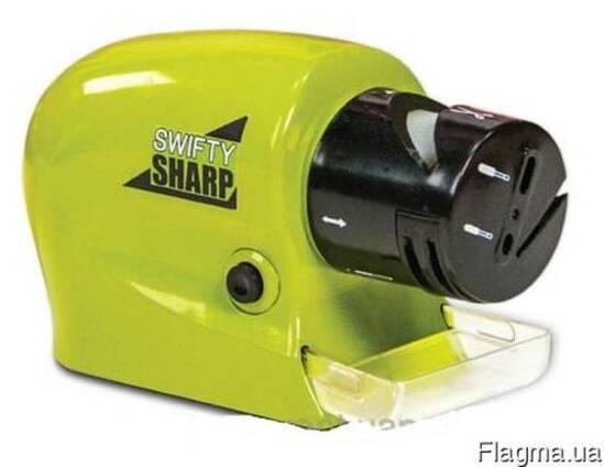 Точилка для ножей и ножниц на батарейках Swifty Sharp Motori