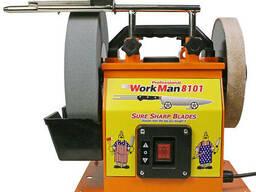 Точильный станок для ножей, ножниц, стамесок WorkMan 8101