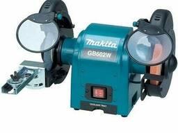 Точило с двумя шлифовальными кругами Makita GB 602 W