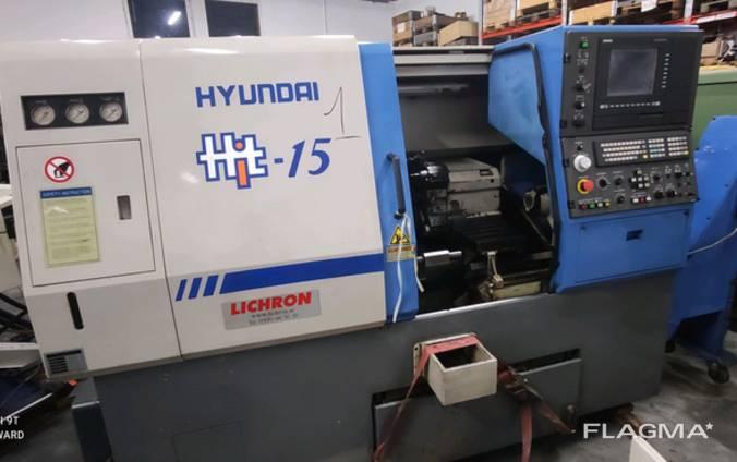 Токарний Станок С ЧПУ Hyundai HIT 15