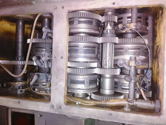 Токарно карусельный станок 1516 коробка скоростей, валы и