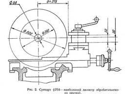 Токарно-винторезный станок 1624М.