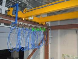 Токоподвод електрики для крана мостового