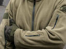 """Толстовка тактическая флисовая куртка/кофта """"Ultimatum"""" Coyote размер XXL"""