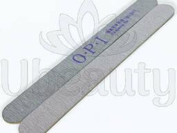 Тонкая пилка OPI 180/240 гритт на деревянной основе