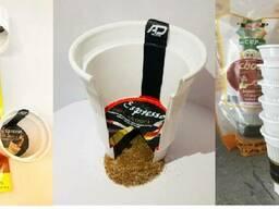TOP CUP - Кофе, чай, какао в индивидуальных стаканах.