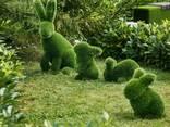 Топиари Фигуры из искусственного газона - фото 6
