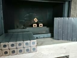 Топливный брикет. Угольный брикет (древесный уголь)