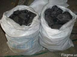 Топливный каменный уголь Дг 13-100 мм ( Донецкий) фасованный