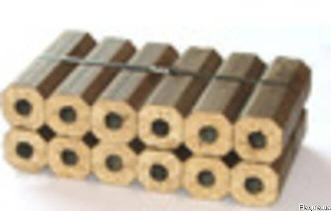 Топливные брикеты 100% дуб Пини-Кей и Пеллеты 6мм