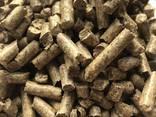 Топливные древесные пеллеты, гранулы из сосны 6 мм и 8 мм - фото 1