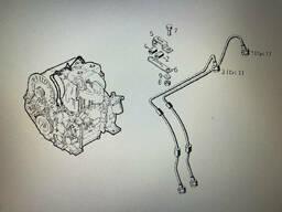 Топливные трубки 02233746,02233741 для двигателей Deutz F2L511