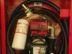 Топливораздаточная колонка (ТРК) с электронным счетчиком