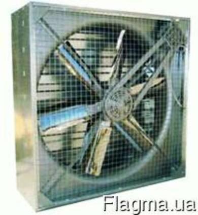 Торцевые осевые вентиляторы ES-100 для птицеводства
