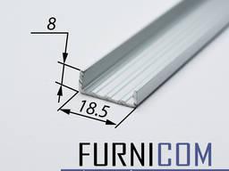 Торцовочный алюминиевый профиль С16 и С18