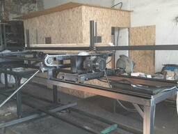 Торцовочный станок для бруса, паллетной доски ТСБ - 450