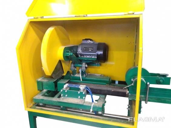 Торцювальний верстат автоматичний для різання паливних брикетів (Pini-kay) ЦПА 63-63