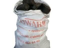 Торфобрикет ( торфяной брикет ) в мешках по 40 кг