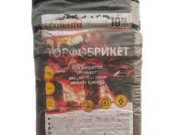 Торфобрикеты в термопленке по10 кг