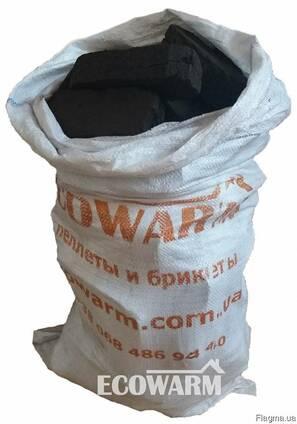 Торфяной брикет в мешках - по 40 кг