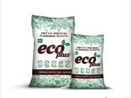 Торфяной субстрат Eco Plus для цветущих растений 10 л