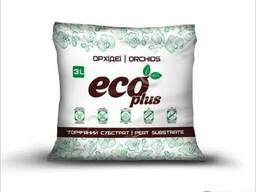 Торфяной субстрат Eco Plus для орхидей 3 л