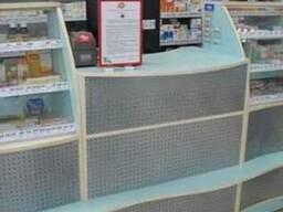 Торговая мебель для аптек.