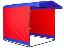 Торговая палатка с печатью из баннерной ткани