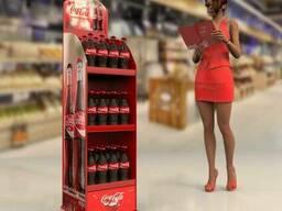 Торговая стойка для колы (Coca Cola)